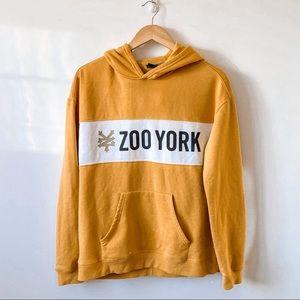 Zoo York Mustard Yellow Pullover Hoodie